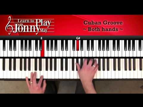 "Latin Jazz Piano - Cuban Groove Lesson Demo from ""Sugar Cubes"""