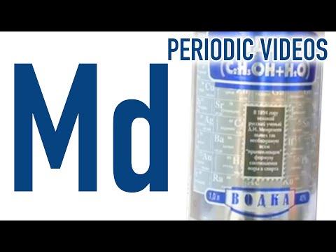 Mendelevium - Periodic Table of Videos