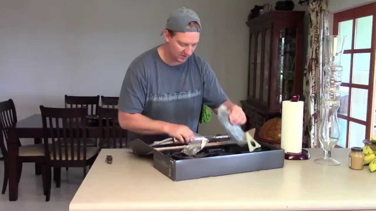 unboxing of the glacier bay pull down kitchen faucet p n 375079