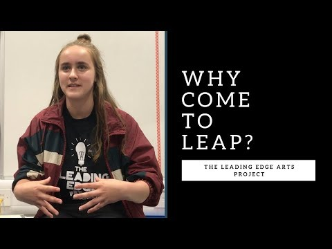 Why come to LEAP? Find out why this is such a unique experience...