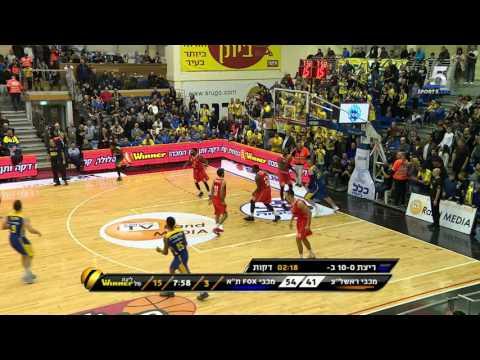 Highlights: Maccabi Rishon - Maccabi FOX Tel Aviv