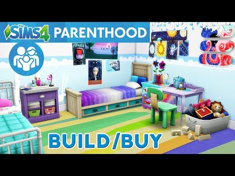 The Sims 4 Parenthood Game Pack - EARLY RELEASE Build / Buy Review - In Depth Look Objects & Decor