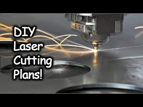 DIY CNC Machine Build #2 | Laser Cutter Purchase and Laser Cutting Plans