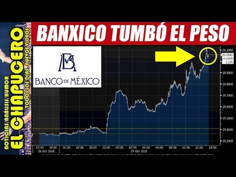 BANCO DE MÉXICO PROVOCÓ AUMENTO DEL DÓLAR PARA PEGARLE A AMLO