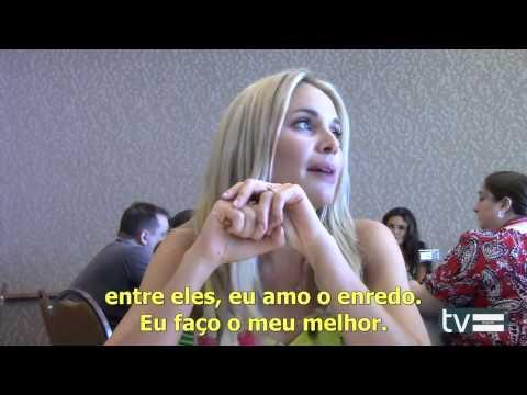 Comic Con 2014: Entrevista com Leah Pipes para TV Equals LEGENDADA
