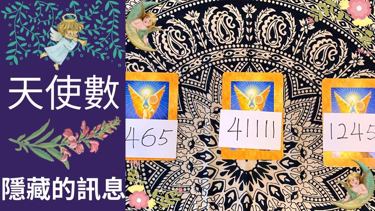 天使數系列😇隱藏的訊息👼🔮看似隨機的數字帶給你什麼訊息呢?🌈塔羅.神諭卡占卜🔮
