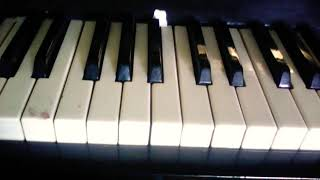 Красивая мелодия на пианино ! Видео урок