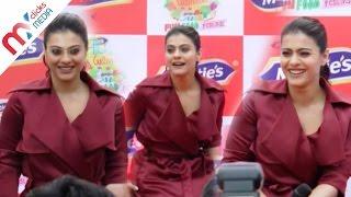 Kajol Hot In Deep V Neck Red Dress || Celeb Zone