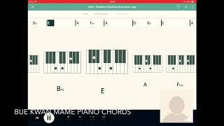Kwabena Kwabena bue kwan ma me piano chords