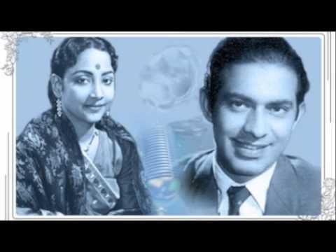 Geeta Dutt, Talat Mahmood  : Dekho dekho jee balam : Film - Bahu (1955)