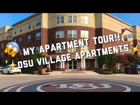MY APARTMENT TOUR!! (DSU Village Apartment Tour)