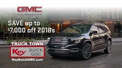 HUGE SAVINGS ON NEW GMCs AT KEY BUICK GMC