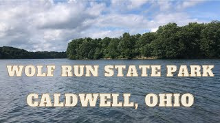 Wolf Run State Pąrk Campground | Camping in Ohio | Campsite with lake access