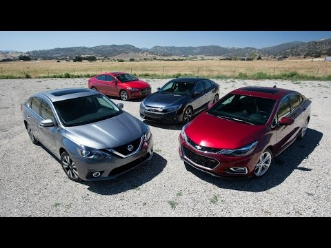 2016 - 2017 Compact Sedan Comparison - Kelley Blue Book