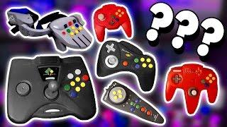 WEIRD Nintendo 64 Controllers!