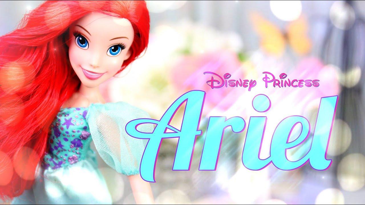 doll review disney princess ariel the little mermaid youtube