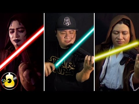 Star Wars Medley (EDM Violin Remix) - Main Theme / Imperial March / Rey's Theme   Fan Cover