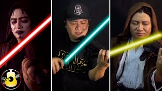 Star Wars Medley (EDM Violin Remix) - Main Theme / Imperial March / Rey