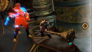 Прохождение God of War 3 Remastered (God of War III Обновленная версия): Серия №9 - Отжарил Афродиту
