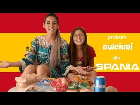 Spania - Amintiri din copilarie - Probam dulciuri din Spania - cu Noelia