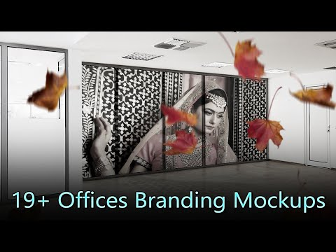 19+ Offices Branding Mock-up Psd