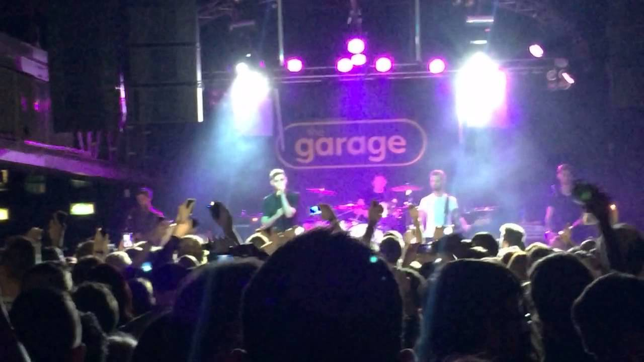 Kids in glass houses the garage glasgow fairwell tour for The garage glasgow