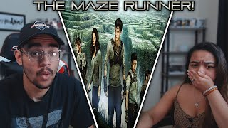 The Maze Runner (2014) Movie Reaction! FIRST TIME WATCHING!