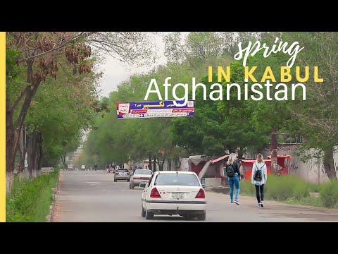 Spring in Kabul Afghanistan | Cinematic video