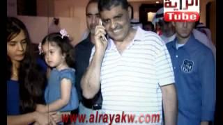 وصول عصام الحوطي الى الكويت