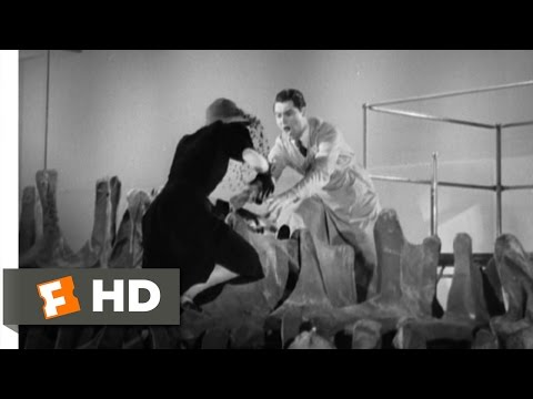 Bringing Up Baby (9/9) Movie CLIP - The Dinosaur Falls (1938) HD
