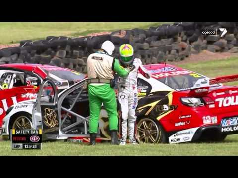 V8 2013 - James Courtney's Crash at Philip Island