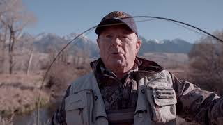 G. Loomis NRX LP Yellowstone Angler 5 weight shootout winner