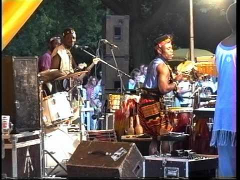 Maschseefest, Susu Bilibi with Musik from West Afrika