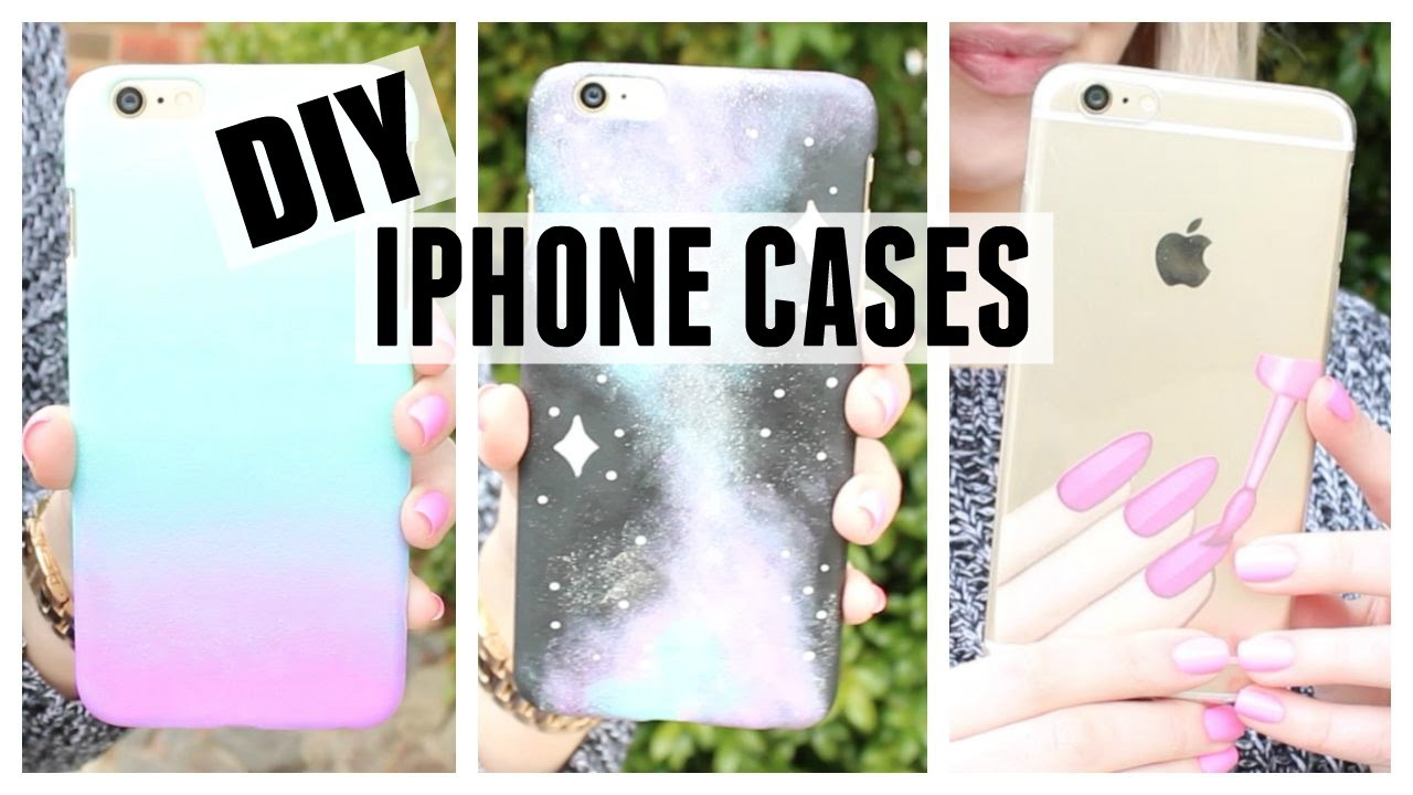 DIY Nail Polish Inspired Phone Cases! - YouTube