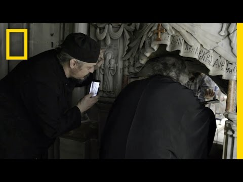 EXCLUSIVE: First Look Inside Christ's Burial Place in Centuries | National Geographic