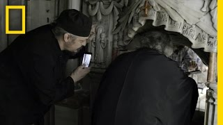 EXCLUSIVE: First Look Inside Christ s Burial Place in Centuries | National Geographic