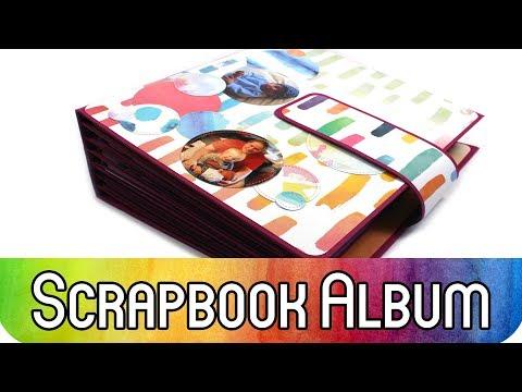 "Scrapbook Album für 200 Fotos: ""Elements Pigment"""