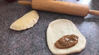 Empanadas suaves de cajeta / o caramelo de leche condensada