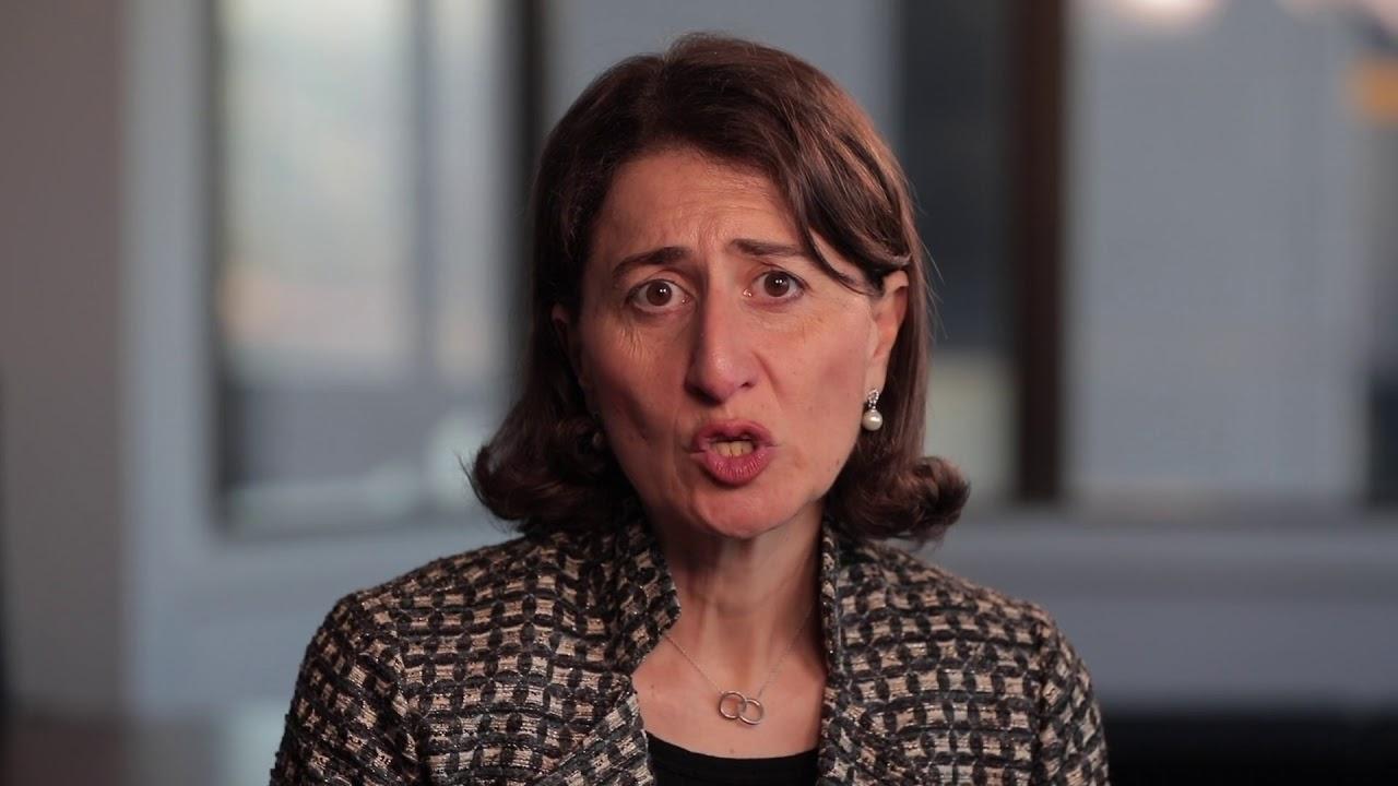 NSW Premier Gladys Berejiklian Message on CREF 2018