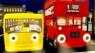 Las Ruedas del Autobus |  Canciones Infantiles | Rimas Infantiles Para Niños | Little Baby Bum!