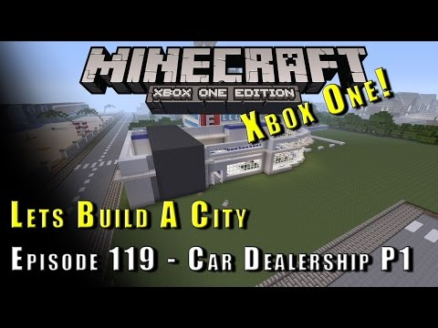 Minecraft :: Lets Build A City :: Car Dealership P1 :: E119