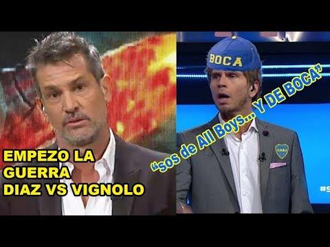 Diego Diaz destruye a Vignolo: