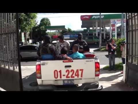 Mediante operativo fueron detenidos 9 homicidas en el Municipio de Nahuizalco