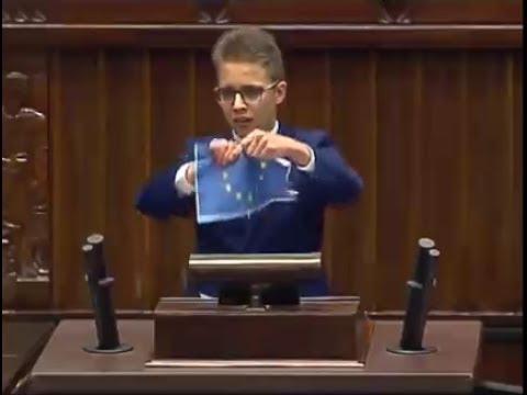 MŁODZI NIE CHCĄ UE! NIE CHCĄ POLITYCZNEJ POPRAWNOŚCI! || Sejm Dzieci i Młodzieży 2017