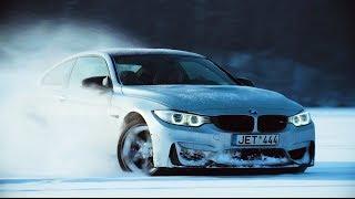BMW M4 DRIFTING ON ICE