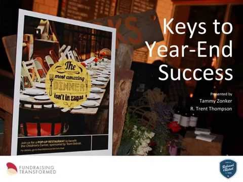 Keys to Year-End Appeal Success