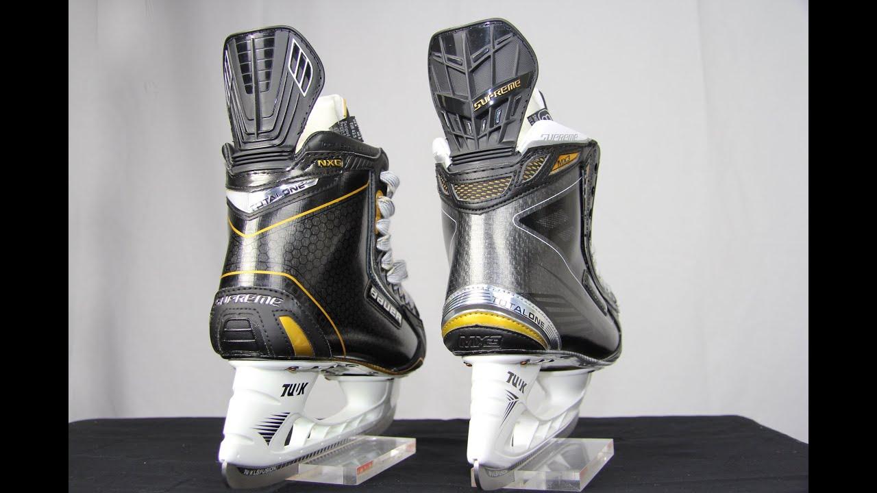 Bauer Supreme Mx3 Skates Vs Total One Nxg Review Hockey