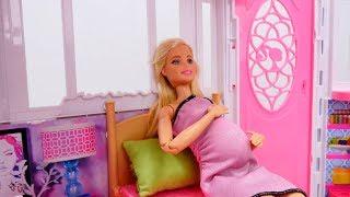 Видео для девочек. Барби ждет появления девочки. Про Барби на Лайкландия