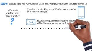 How to Submit Supporting Documents to SARS Online