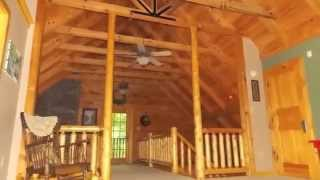 435 Petty Drive Linden TN ~ Log Home For Sale